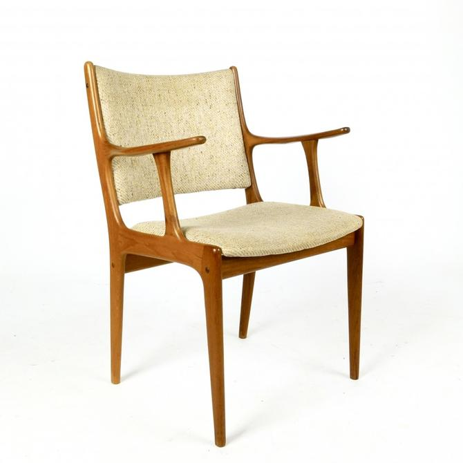 Teak Frame Arm Chair