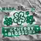 T-shirt: Go-Go Cherry Blossom (Grey)