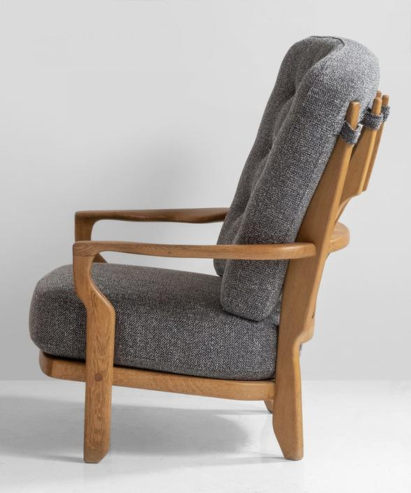 Armchairs by Guillerme & Chambron