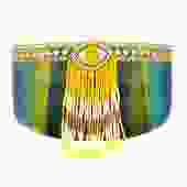 Pharaoh Eye Visor Shades in Yellow