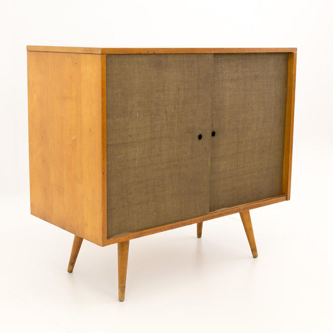 Paul McCobb for Planner Group Media Console Record Cabinet - mcm by ModernHill