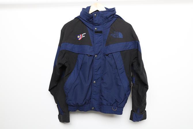 vintage 90s y2k NORTH FACE ski jacket men's vintage parka -- men's size small by CairoVintage