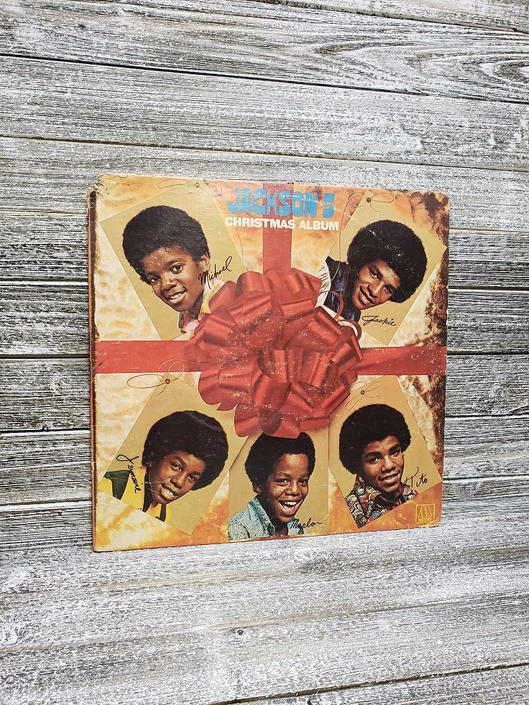 Jackson 5 Christmas.Vintage Jackson 5 Vinyl Christmas Album Motown Records Lp Michael Jackson Jermaine Tito Marlon Jackie Santa Claus Frosty Vintage Vinyl By