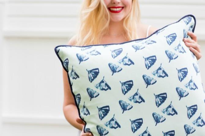 Ginkgo Love Throw Pillow