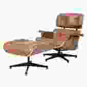 """""""Grayson"""" Lounge Chair in Caramel"""