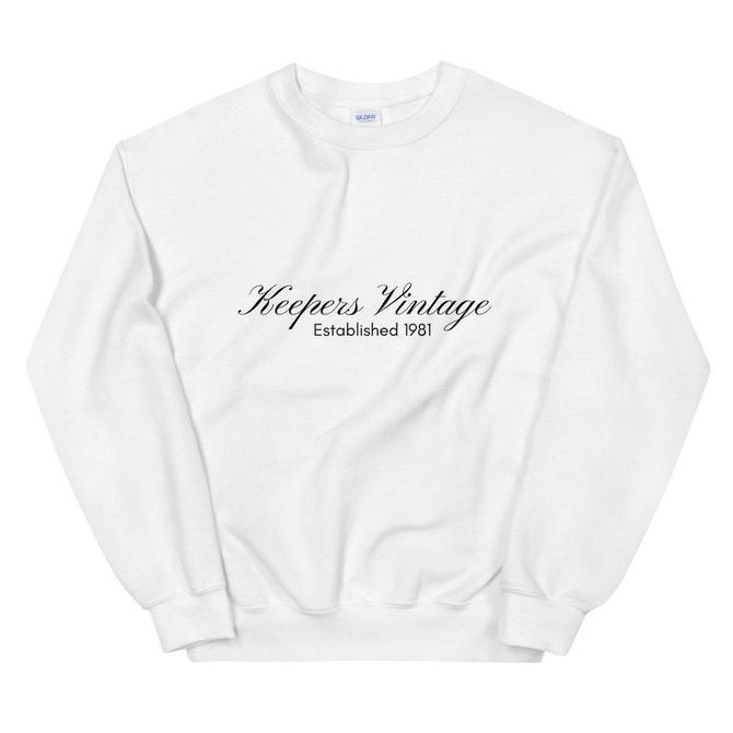 Keepers Vintage Logo Sweatshirt by KeepersVintage