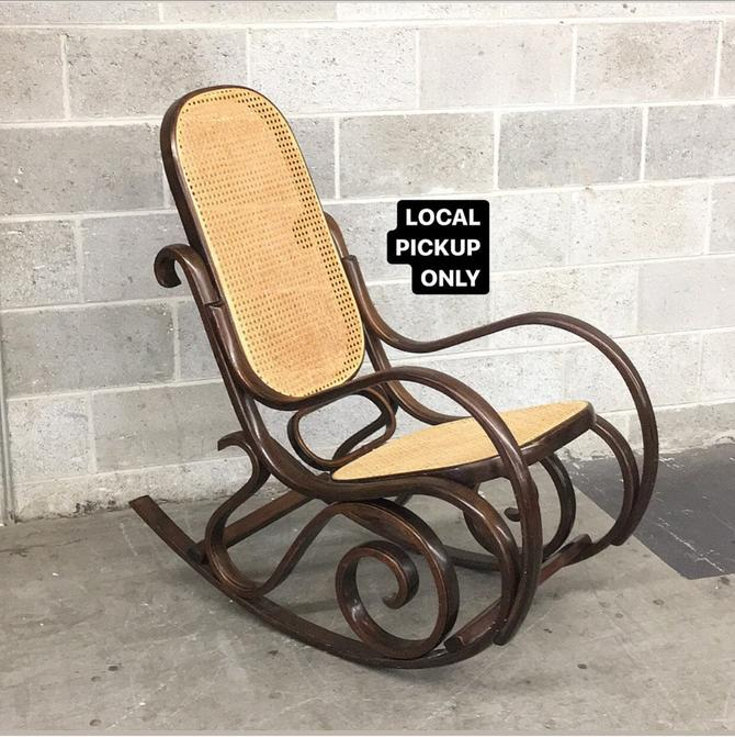 LOCAL PICKUP ONLY ———— Vintage Rocking Chair by RetrospectVintage215