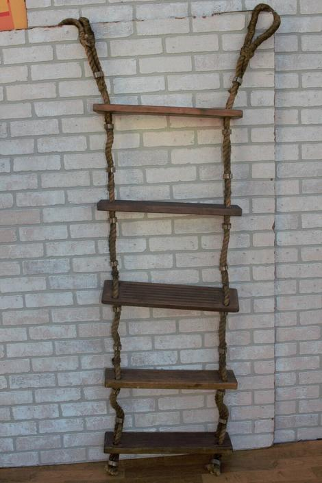 Antique Nautical Ships Boarding Ladder