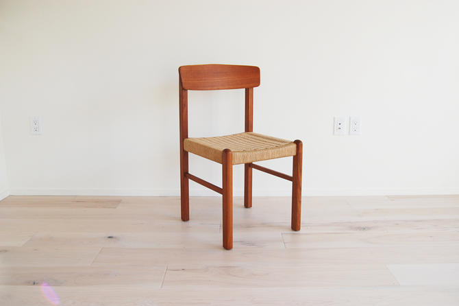 Mid Century Modern Teak Dining Chair by MidCentury55