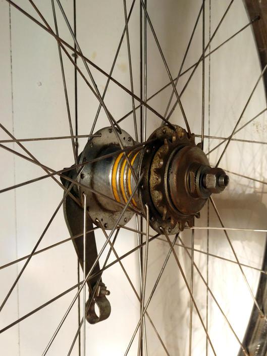 Vintage Schwinn Bendix 2 Speed Kickback Rear Wheel Westwind