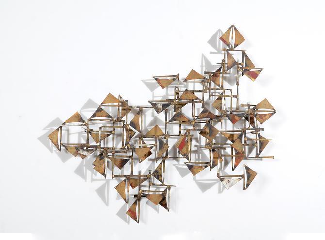 William Bowie Mid Century Modern Brutalist Wall Art by ...
