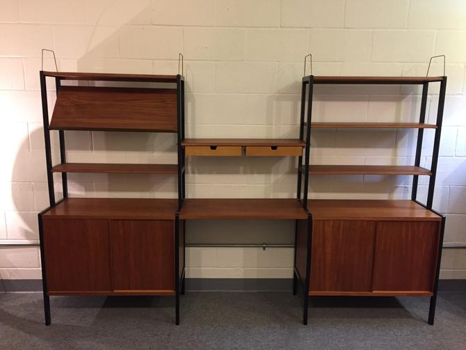 Bodafors Sweden Mid Century Free Standing Wall Unit by Vintagefurnitureetc