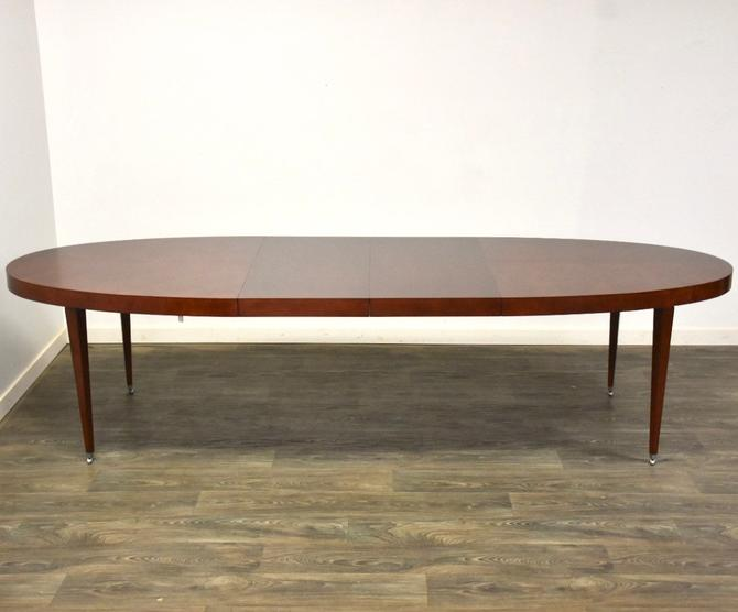 Curly Maple Cherry Color Dining Table by Baker by mixedmodern1