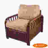 Split Rattan Lounge Chair