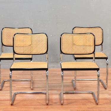 Cesca by Marcel Breuer Chrome & Cane Chair