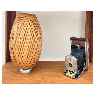 Beehive Wicker Lamp
