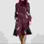 Stella Dress  | Merlot Lace