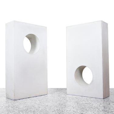Large Concrete Architecture Forms - a Pair by JefferyStuart