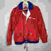 Vtg 80's Red Nautical Jacket (S)