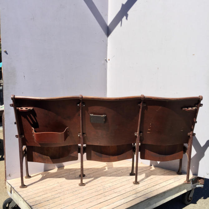 Wooden Theater Seats