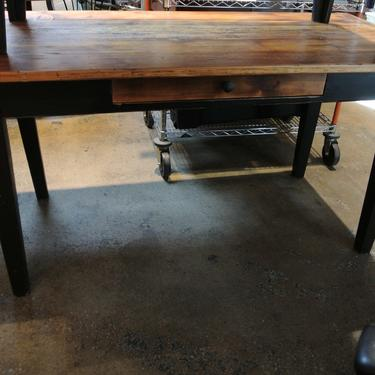 Rustic farmtable w/ drawer - $425