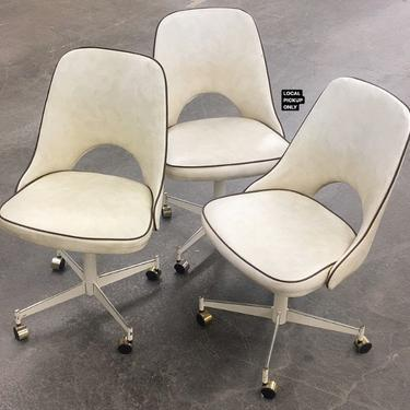LOCAL PICKUP ONLY ———— Vintage Stoneware Dining Chairs by RetrospectVintage215