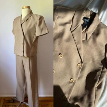 Short Sleeve Suit Set by DiscoLaundryVintage