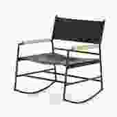 """Jack"" Leather Rocker Chair"