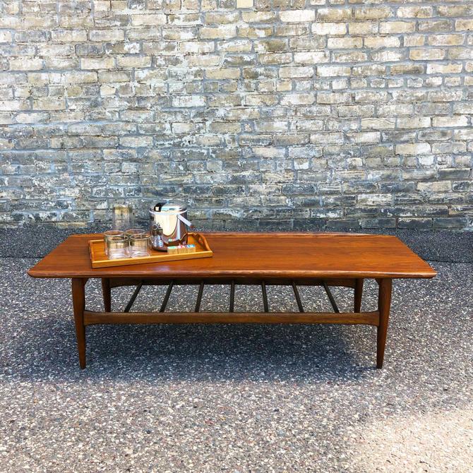 Bassett Artisan Walnut Coffee Table
