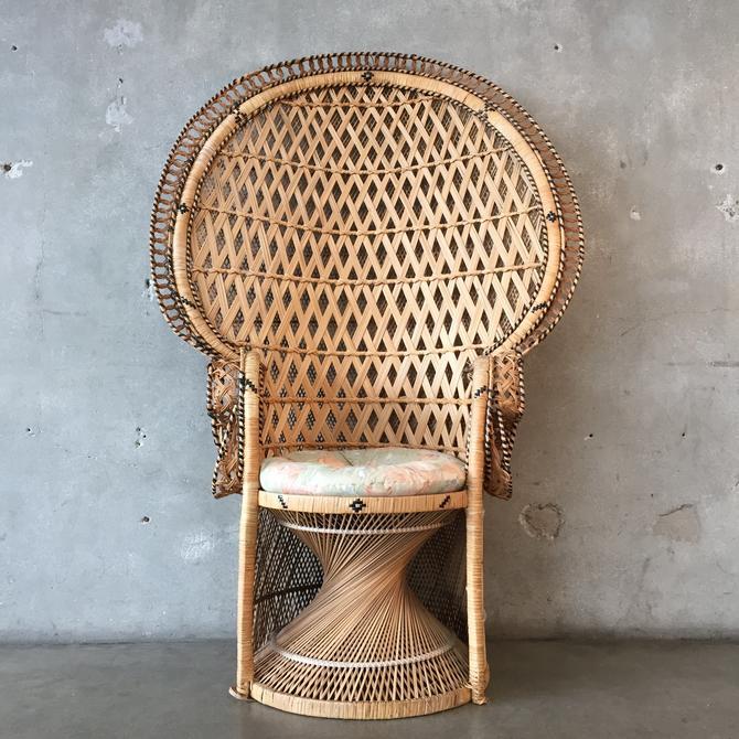 1970's Peacock Chair