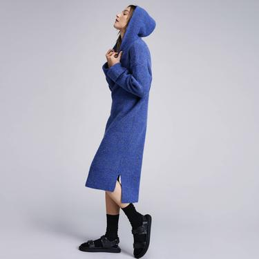 Tropez Sweater Dress - Blue