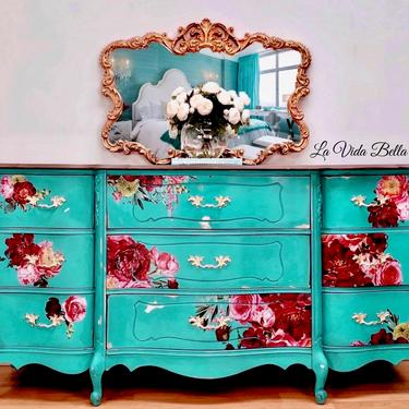 French Country Fabulous, Dresser, Console, Sideboard, Buffet by LaVidaBellaDesign