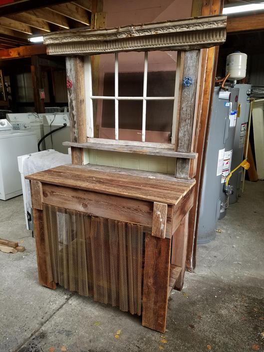 Upcycled Potting Bench