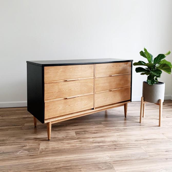 MCM Two-Tone Dresser by madenewdesignct