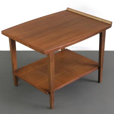 Mid Century Modern End / Side Table by Lane in Walnut by ABTModern