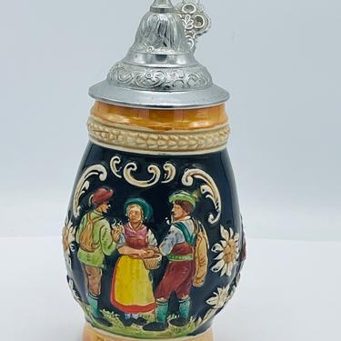 "Vintage West German Beer Stein Made in Western Germany 8"" by JoAnntiques"