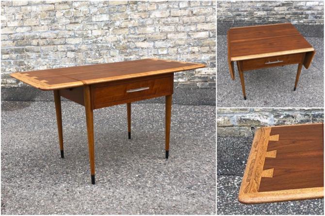 Rare Lane Acclaim Dropleaf Table