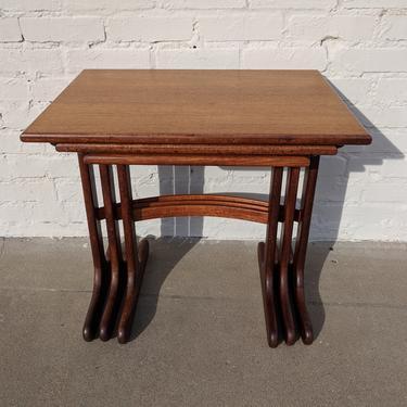 Mid Century Modern G Plan Teak Nesting Tables by VintageVaultTulsa