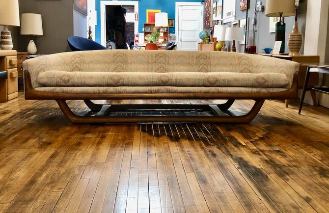 Mid Mod Scuptural Long Sofa after Adrian Pearsall 1960's