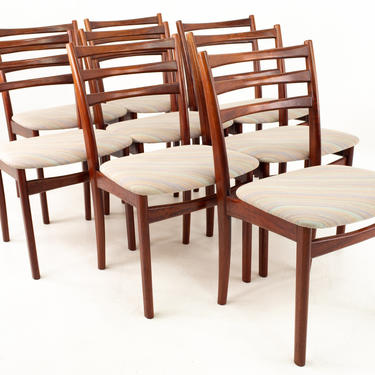 Skovby Mid Century Rosewood Dining Chairs - Set of 8 - mcm by ModernHill