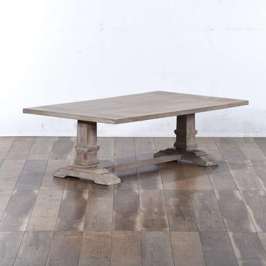 Rustic White Wash Coffee Table