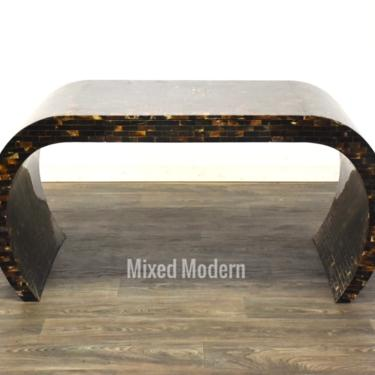 Enrique Garcel Tessellated Horn Desk by mixedmodern1