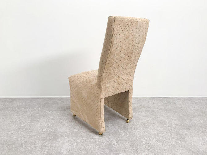Suede Vanity Chair by BetsuStudio