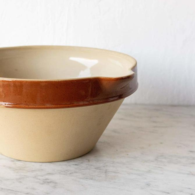 Vintage French Mixing Bowl