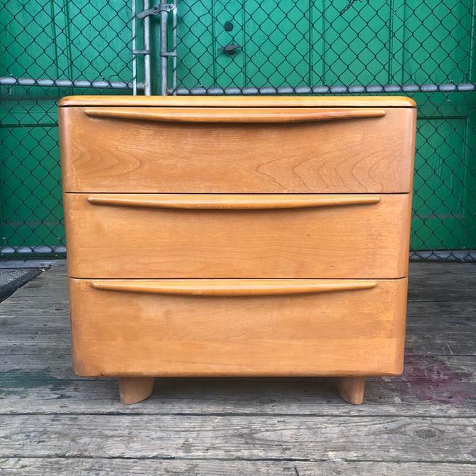 Mid Century 3 Drawer Dresser by Heywood Wakefield