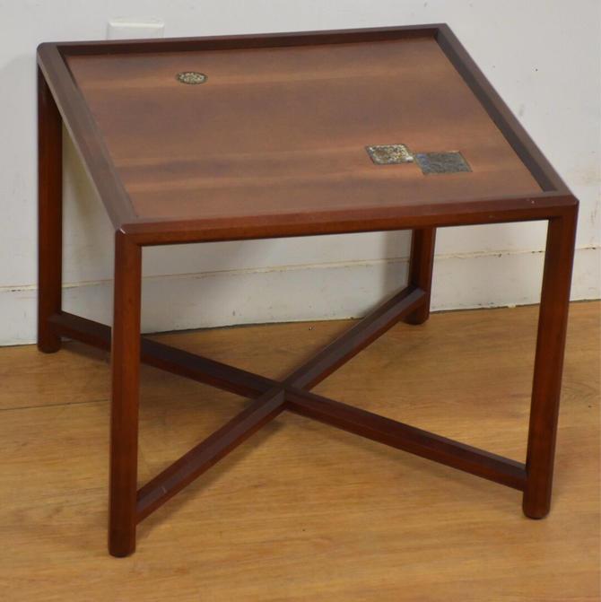 Edward Wormley for Dunbar Natzler Tile End Table by mixedmodern1