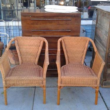 Pair of chairs. Bentley's Vintage