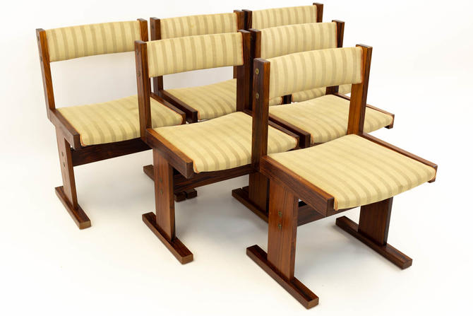 Rosewood Danish Modern Dining Chairs by Mobler