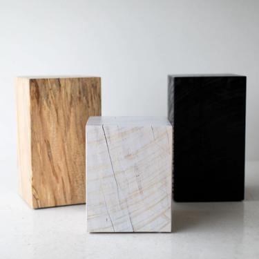 Square Tree Stump Table by BertuHome