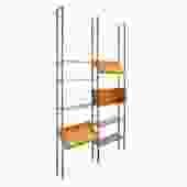 Adjustable Height Floating Shelves